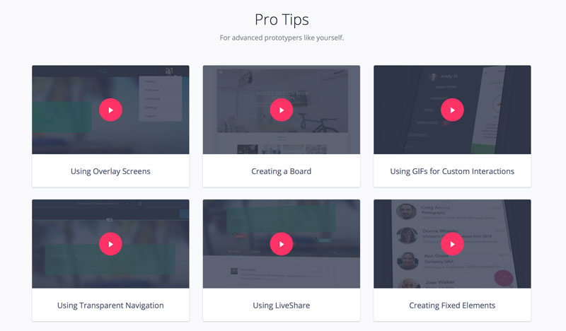 Invision video tutorial