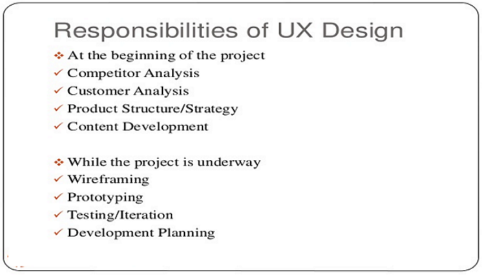 UX job description – Ux Designer Job Description