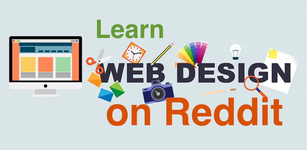 How to learn web design on Reddit efficiently & for free?