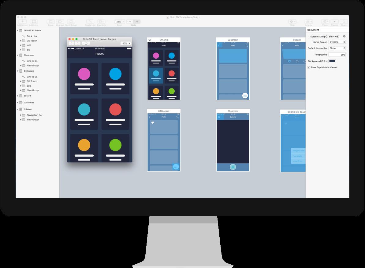 flinto design tool