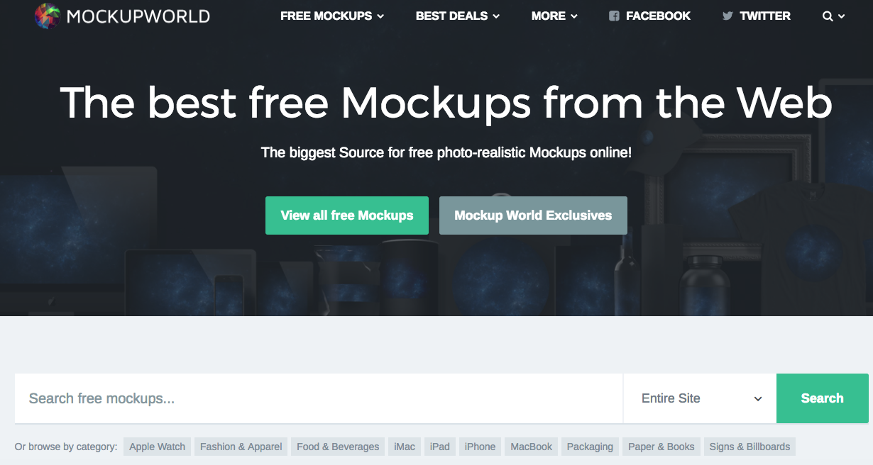 10 Best Places To Get Free Mockup Templates For Designers