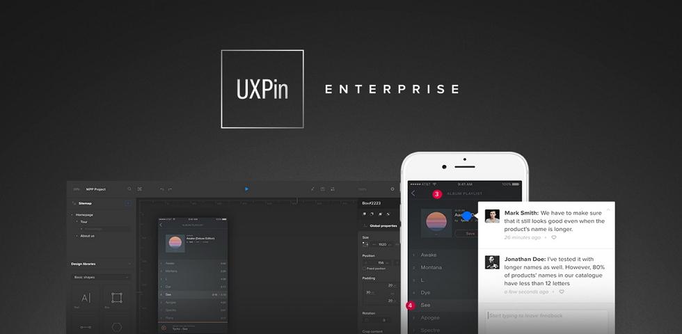 uxpin design tool