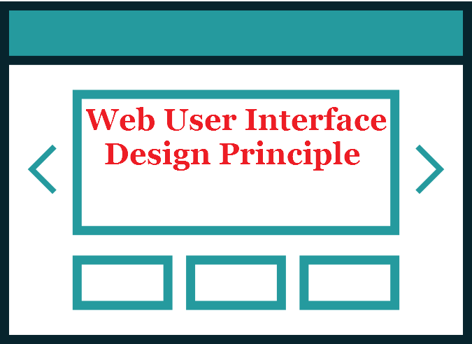 How to Define Web User Interface Design Principle