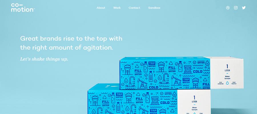 Co-motion Studio homepage