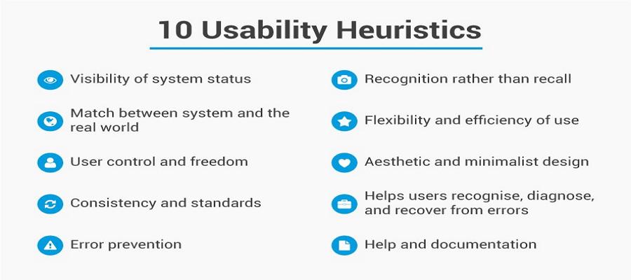 10 usability heuritics