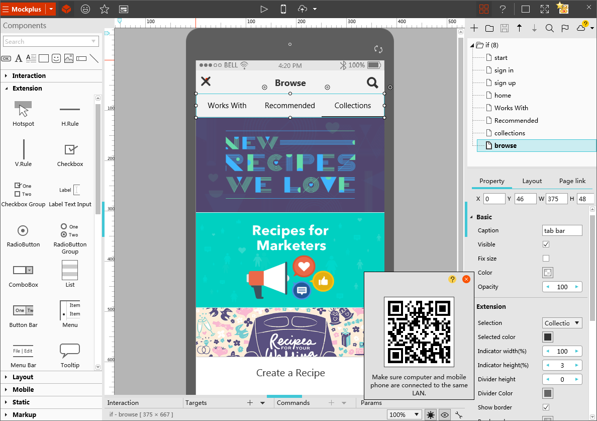 5 Most Easy To Use Wireframe Design Tools For Free Electronic Software If You Are Looking A Tool And It Is Both Fully Functional Fast Then Mockplus Comes With Simplest