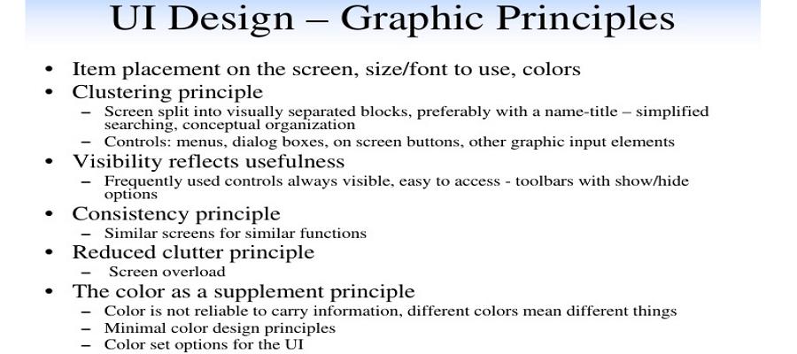 graphic principle