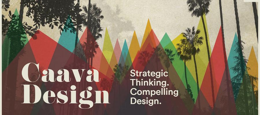 Caava Design homepage
