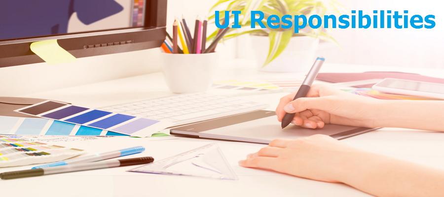UI designer responsibilities