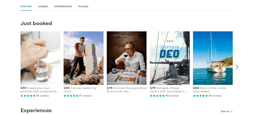 Airbnb list