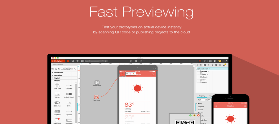 Medium fidelity prototyping tools: Mockplus.