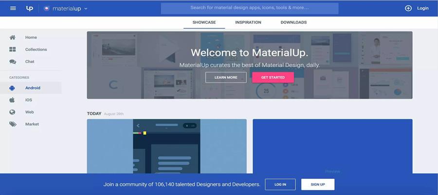 8 Awesome Websites for Stimulating UI Design Inspiration in 2017