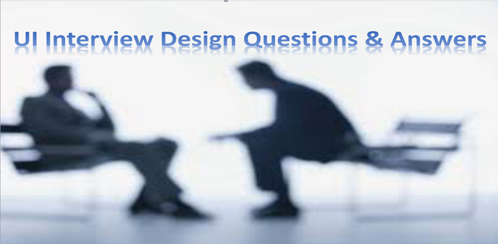 20 most common ui design questions and answers for ui interview