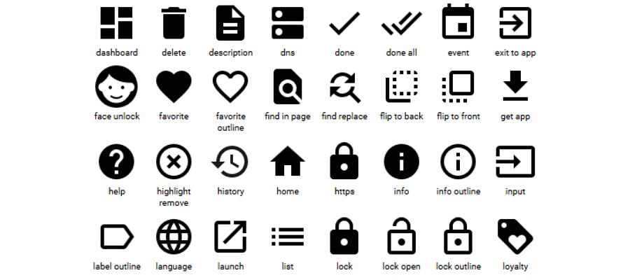 google-free -icons