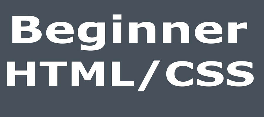 Beginner web design html and css