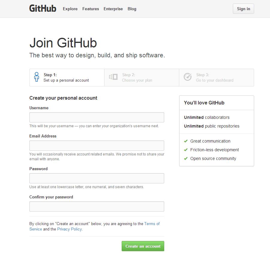 join github