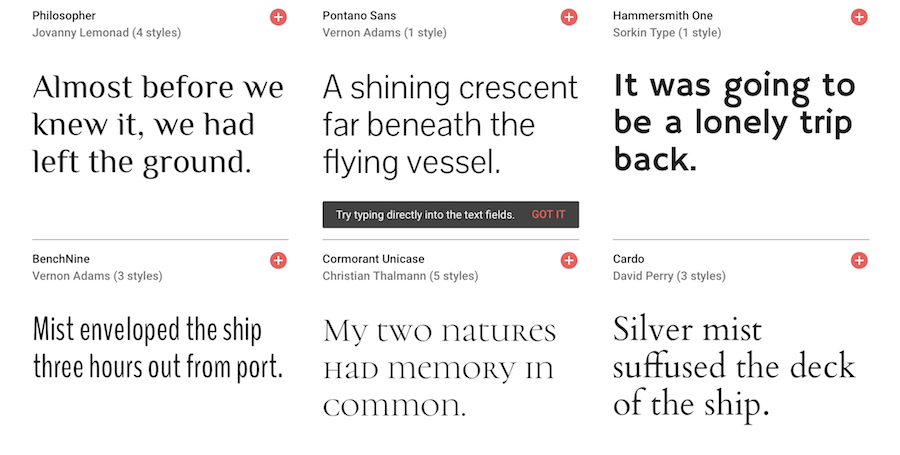google fonts preview 3