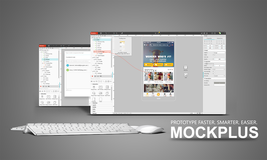 Prototype file format of Mockplus