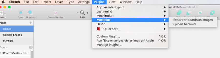 Mockplus Sketch Integration
