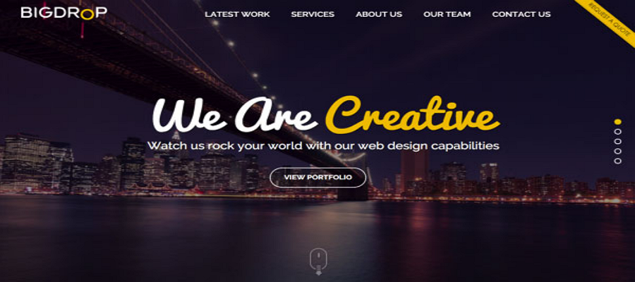 20 of the Best Website Homepage Design Examples - bigdropinc