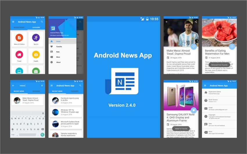 Android News App – News App