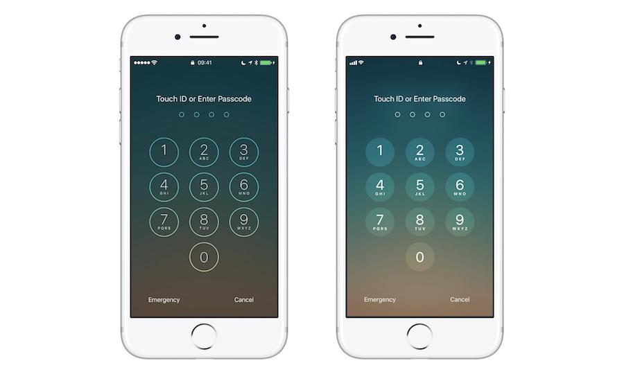 iOS 10 vs iOS 11: Lock Screen