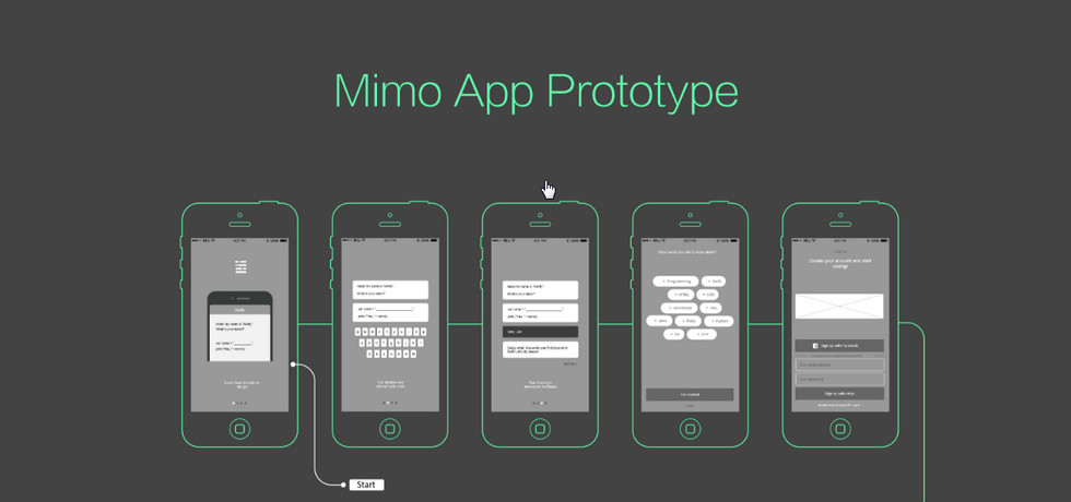 Education App Design Example – Mimo