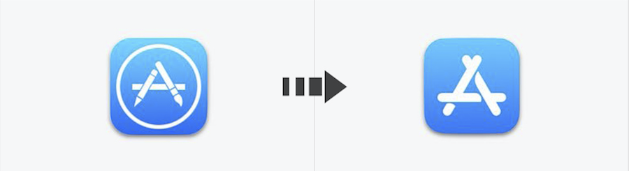 iOS 10 vs iOS 11: App Store