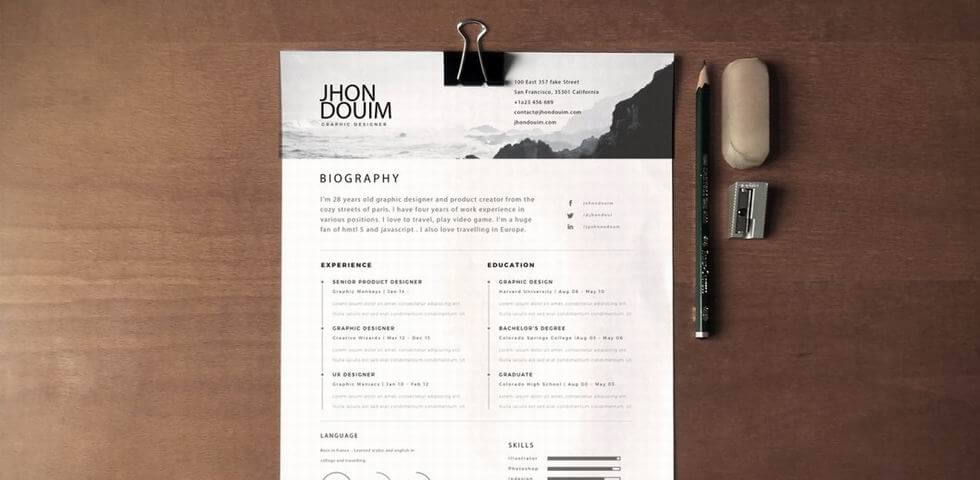 5 Secrets To Design An Excellent Ux Designer Resume And Get Hired. 2017 Resume Page Template. Resume. Ux Design Resume At Quickblog.org