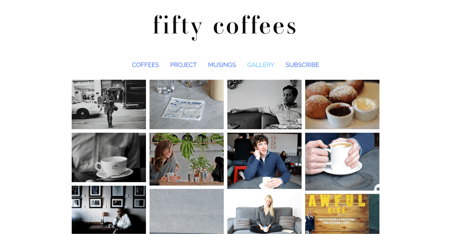 Fifty Coffees