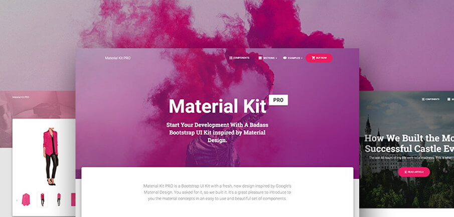 12 Best Free Material Design UI Kits for Sketch & PSD in 2018