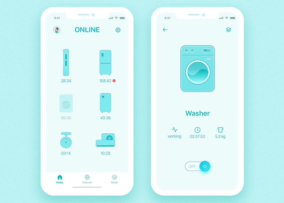 Smart Home App - iPhone X