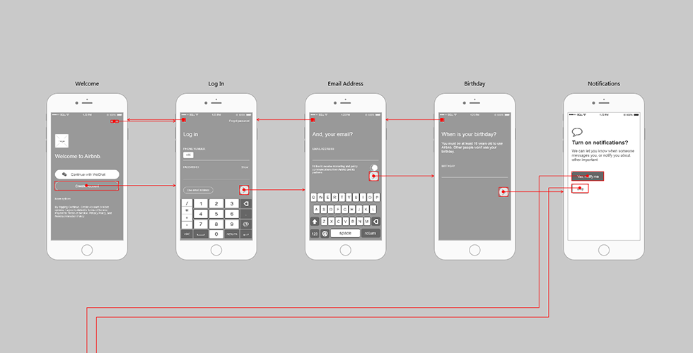 Mockplus Sample Project Airbnb App Traveling Mockplus