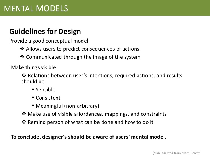 Mental models final presentation