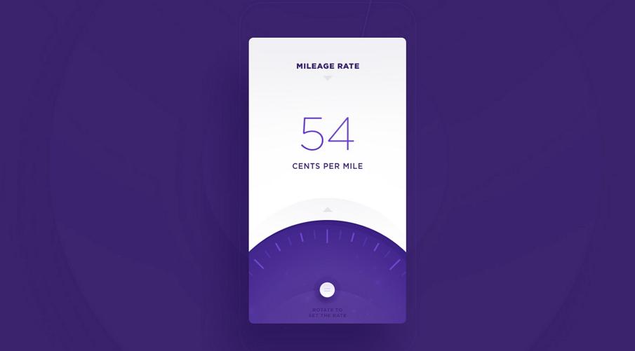 Mileage Tracker - Website & Application Design