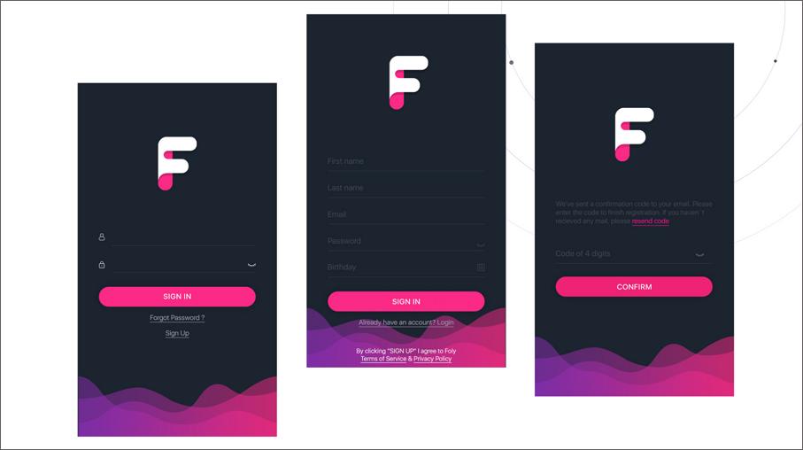 Foly Mobile App