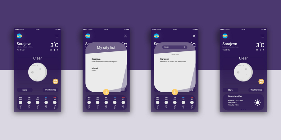 20 Best Flat UI Design For Mobile APP Inspirations