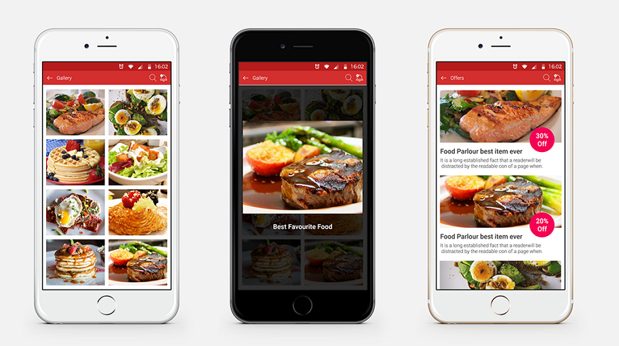 Latest Food Mobile App UI Design Food Parlour