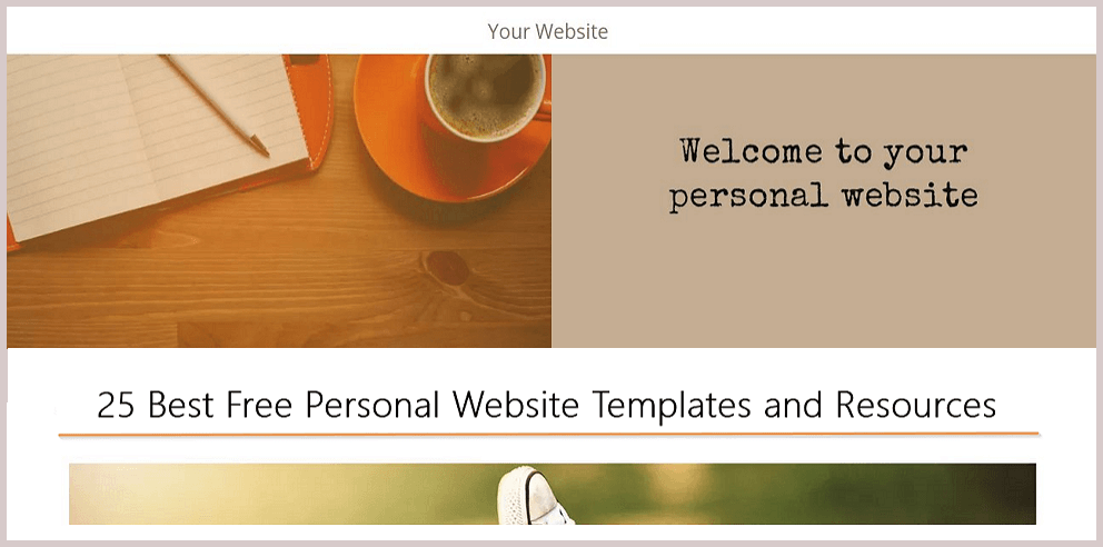 25 best free personal website templates and resources 25 best free personal website templates and resources mockplus team maxwellsz