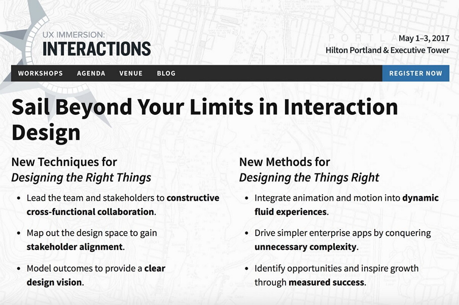 UIE UX Immersion: Interactions