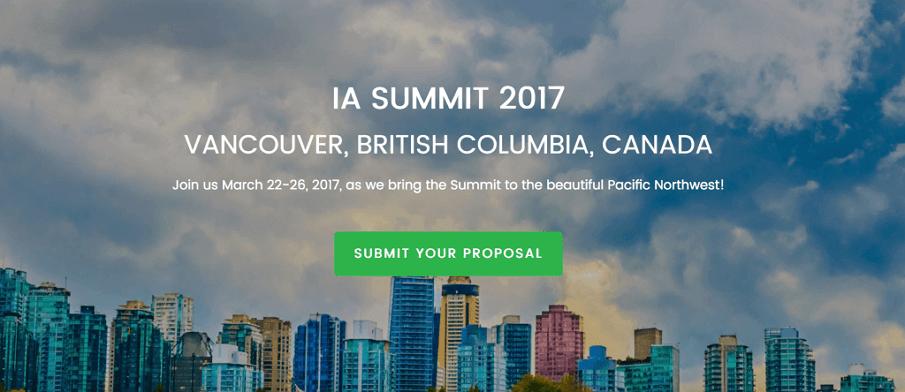 IA Summit 2017