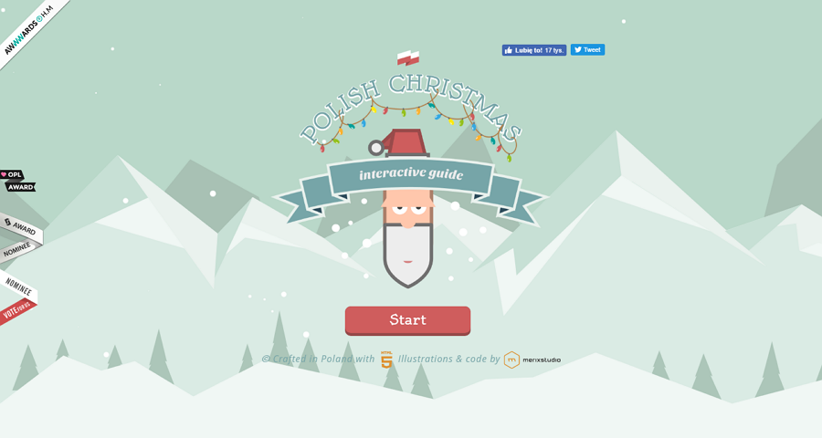 Best-interactive-website-polish-christmas-guide-image