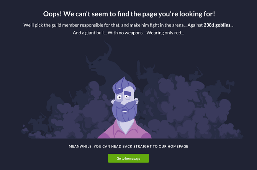 Error Page Switex