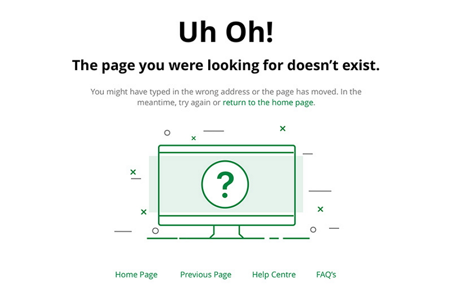 14 Latest and Best 404 Error Page Designs for Webs/Mobile Apps