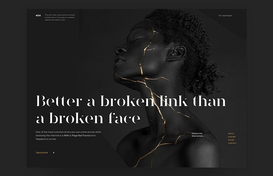 UI 404页面