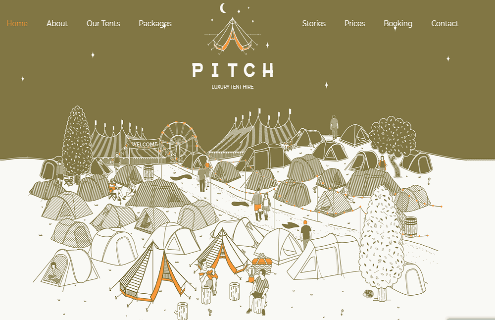 Pitch Tent