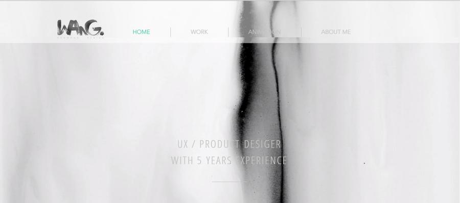 Best UX Designer Portfolio Site Nan Wang