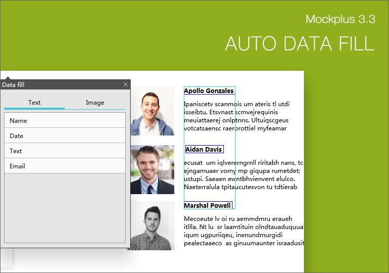 Auto Data Fill