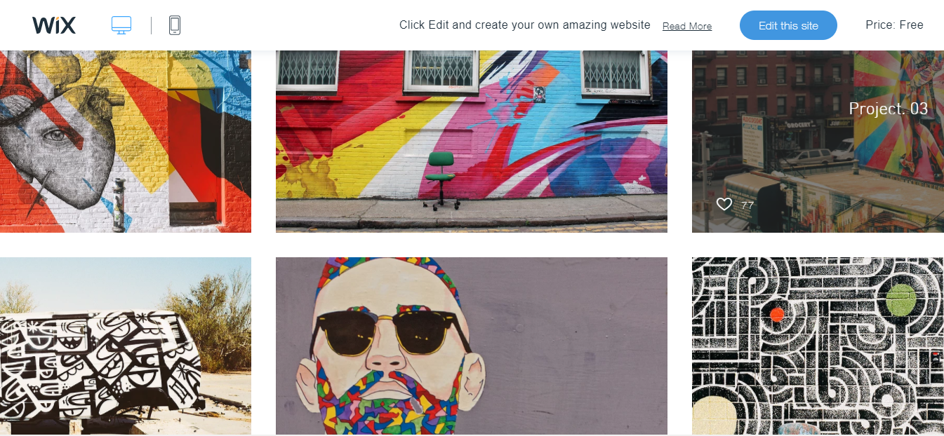 graffiti artist free css web page template for graffiti art