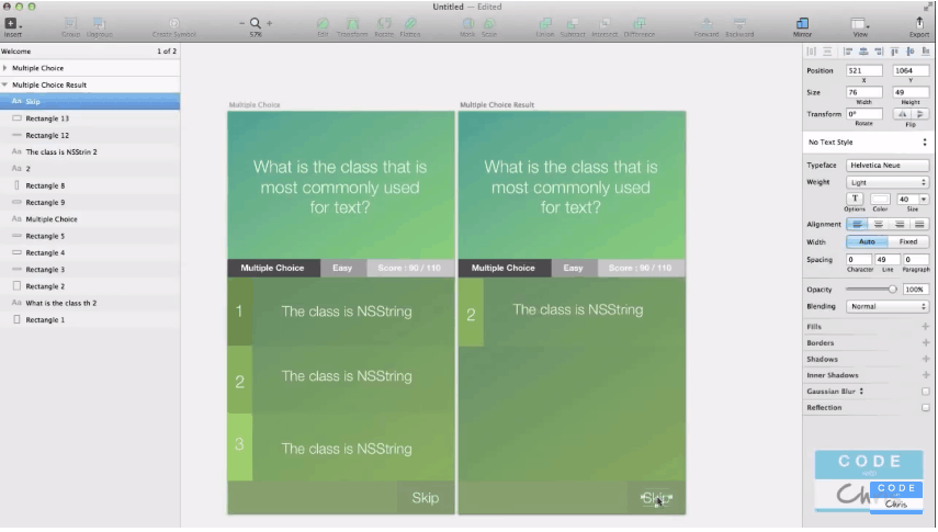 Sketch 3 for iOS App Design Step by Step